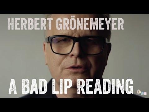 Bad Lip Reading: Herbert Grönemeyer