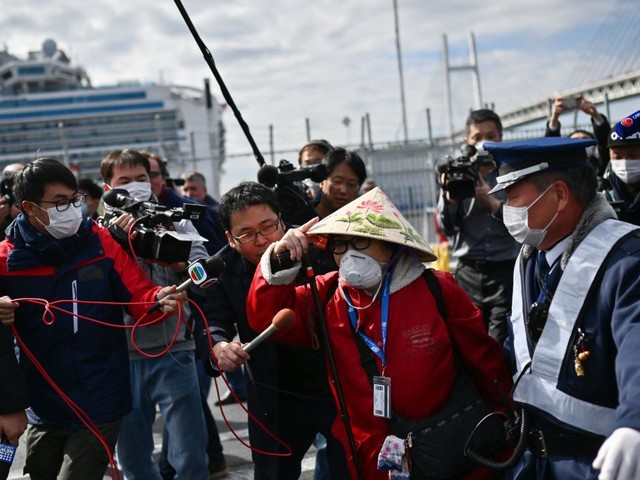 "Über 2000 Tote in China - Erste Passagiere verlassen ""Diamond Princess"""