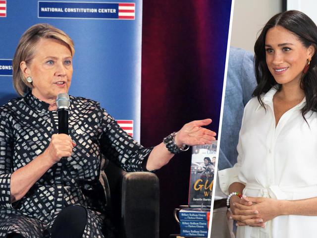 Darum verteidigt Hillary Clinton Herzogin Meghan