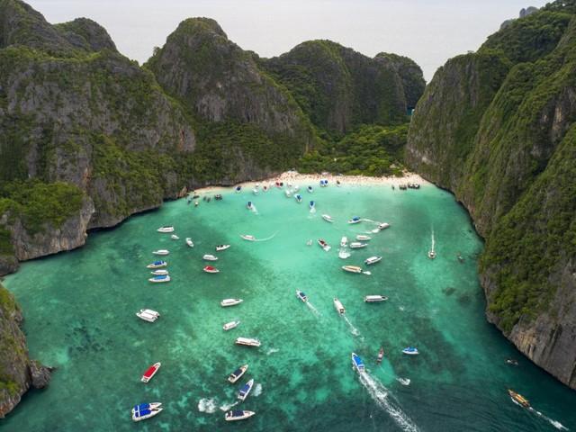 """Berühmter Strand aus """"The Beach"""": Maya Bay in Thailand bleibt auf unbestimmte Zeit geschlossen"""