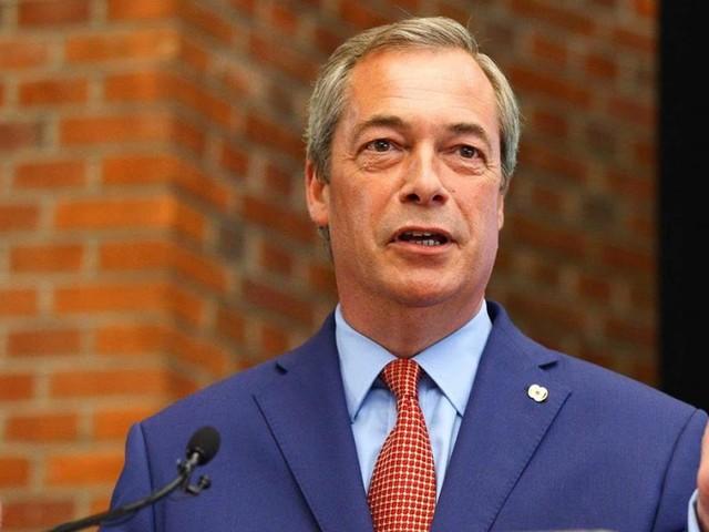 Nigel Farage wird in Berlin für die AfD werben