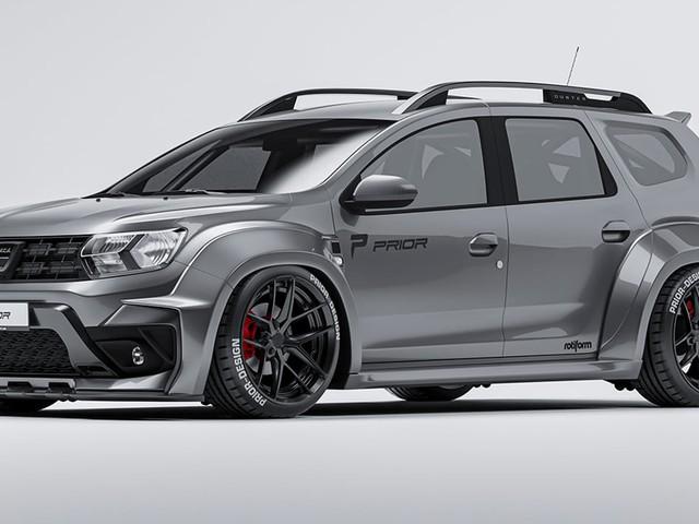 Prior Design Dacia Duster (2021): Tuning, Bodykit, Preis Breit und günstig: Duster-Bodykit von Prior Design kostet nur 3000 Euro