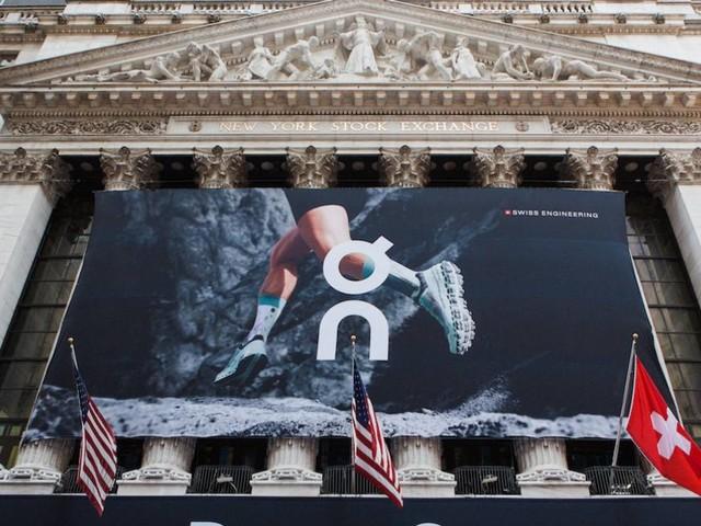 Sportschuh-Hersteller On feiert erfolgreichen Börsenstart