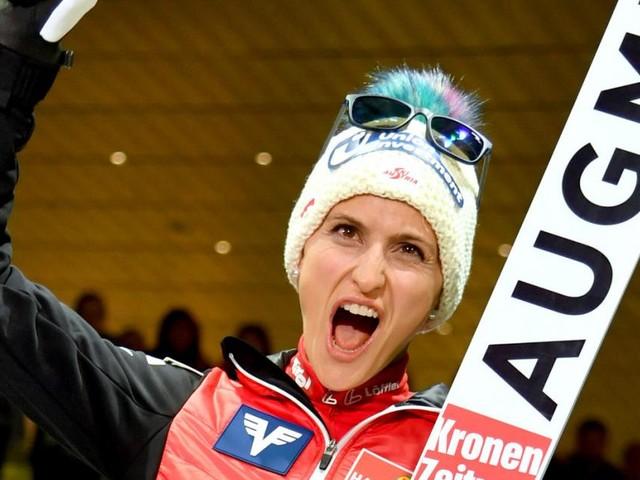 """Skispringerin Eva Pinkelnig: """"Es waren Anzeichen von Alzheimer da"""""""