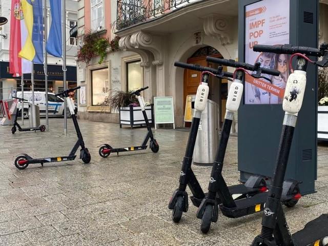 Die Krux mit den E-Scootern in Wiener Neustadt