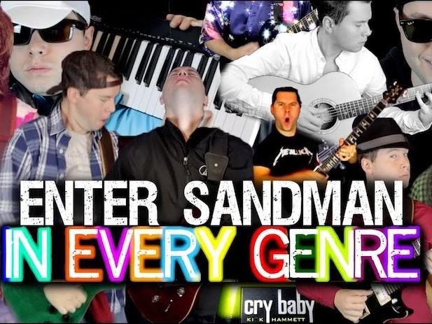 """Wie Metallica's """"Enter Sandman"""" in jedem anderen Genre klingt"""