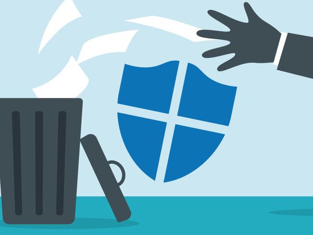 Windows Defender: Fehler verstopft Festplatten