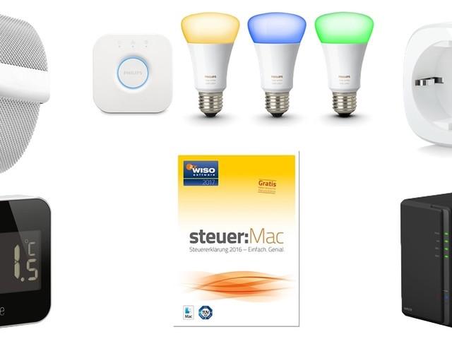 Amazon Blitzangebote: Elgato Eve Thermo + Energy (HomeKit), Philips hue, iPhone X Displayschutzglas, WISO Steuer Mac 2017 und mehr