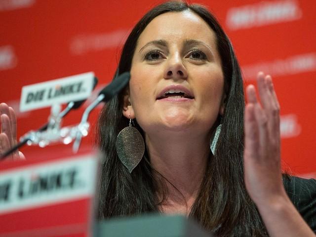 Linke lehnt Koalitionsbedingung der Grünen ab: Kein Bekenntnis zum Militärbündnis Nato