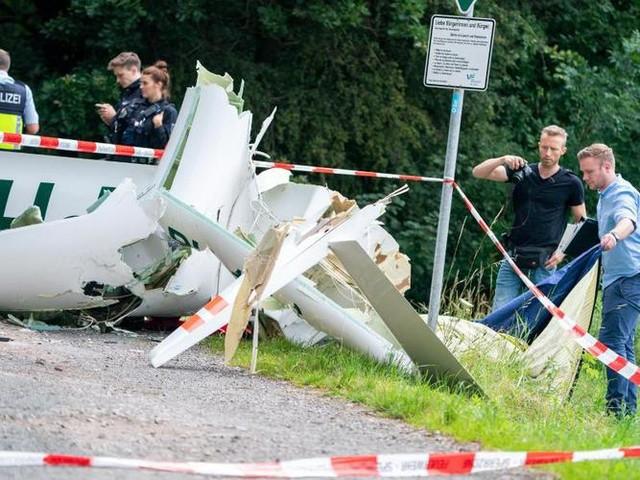 Münsterland: Zwei Tote bei Absturz zweier Segelflieger