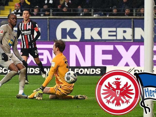 Fußball, Bundesliga: Eintracht Frankfurt verliert sein Heimspiel gegen Hertha BSC mit Jürgen Klinsmann