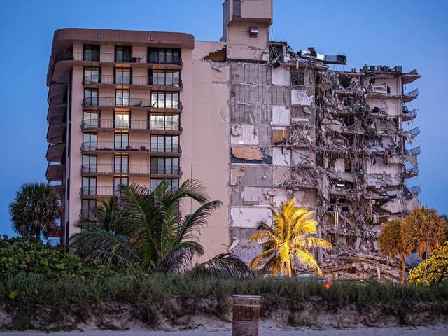 Eingestürztes Gebäude in Miami sank seit Jahrzehnten langsam in den Boden