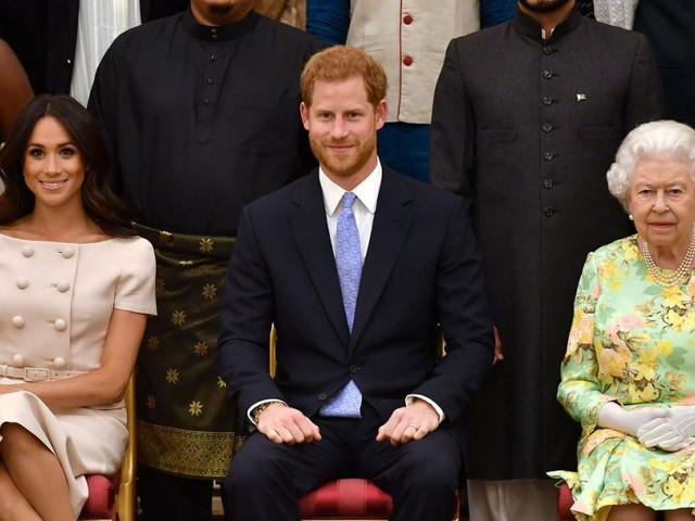 "Megxit endgültig: Royals ""respektloses"" Statement der Sussexes erbost"