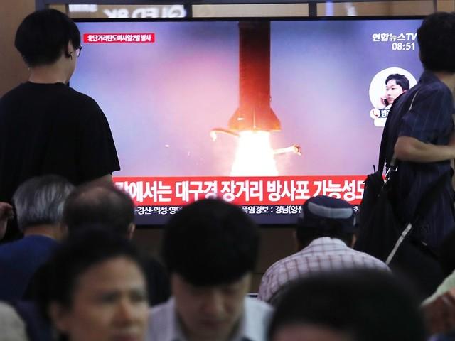 Sechster Test in drei Wochen: Nordkorea feuert erneut Raketen ab