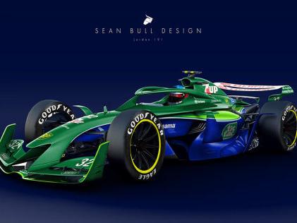 Formel 1: 2021 Designs Retro-Lackierungen auf F1-Studie