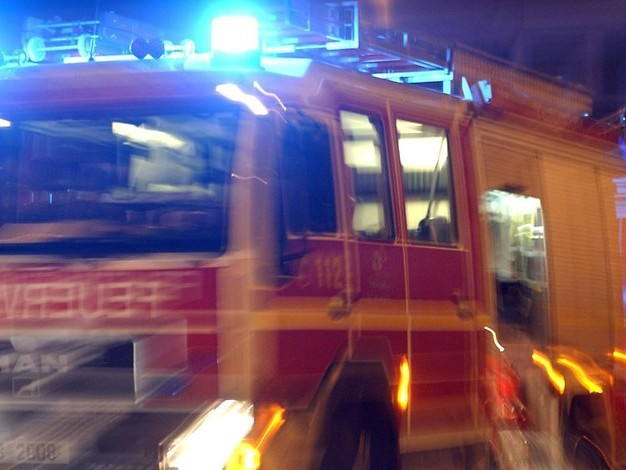 Großeinsatz der Feuerwehr: Hotel Seeperle in Neuruppin abgebrannt