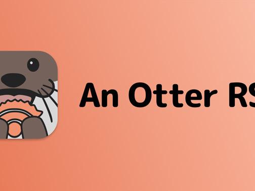 An Otter RSS: Einfacher RSS-Reader mit iCloud-Sync