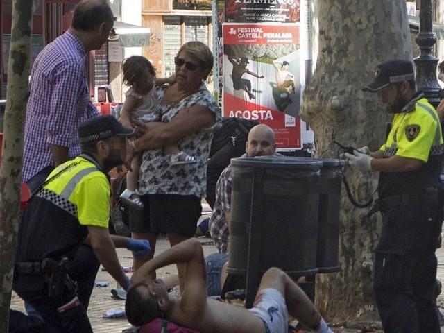 Terrorangriff mit Lieferwagen in Barcelona