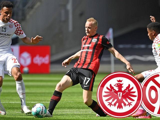 Eintracht Frankfurt gegen 1. FSV Mainz 05 1:1 , 32. Spieltag
