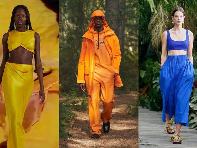 Entdeckt auf dem Laufsteg: Pantones Modefarben Frühling/Sommer 2021