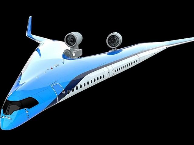 Flying-V: So soll der Zukunftsflieger von KLM innen aussehen