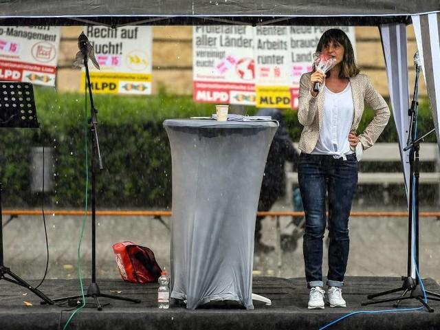 Die MLPD im Bundestagswahlkampf: Weltrevolution– und keiner will hin