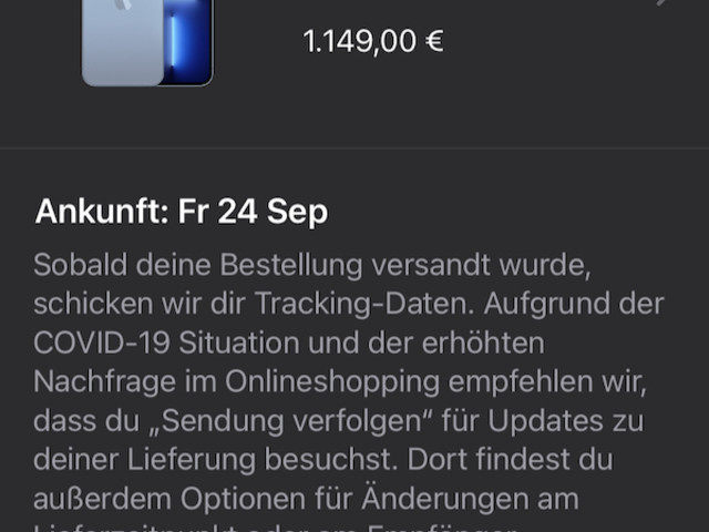 iPhone 13 (Pro): Apple bereitet Versand vor