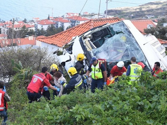 Unfall auf Madeira - 29 Tote bei Busunglück