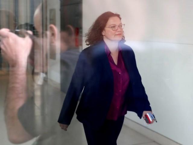 SPD: Andrea Nahles willals Partei- und Fraktionschefin zurücktreten
