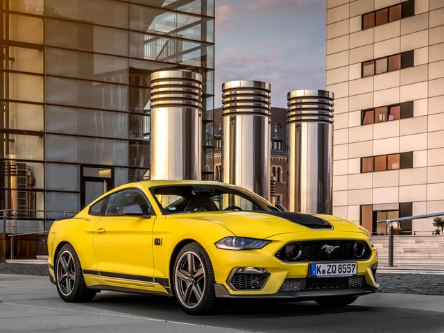 Ford Mustang Mach 1 im Test: Very Heavy Metal