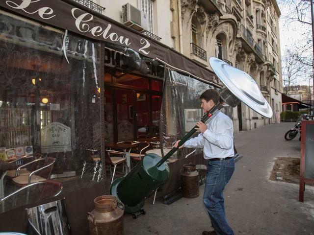 Bistros in Paris: Frieren für den Umweltschutz
