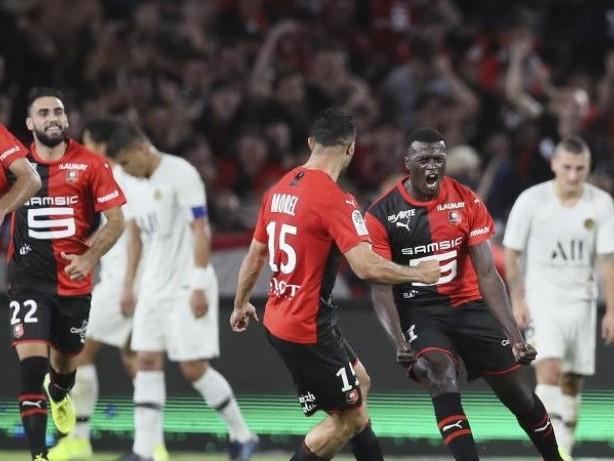 Ligue 1: Früher Rückschlag für PSG: Niederlage in Rennes
