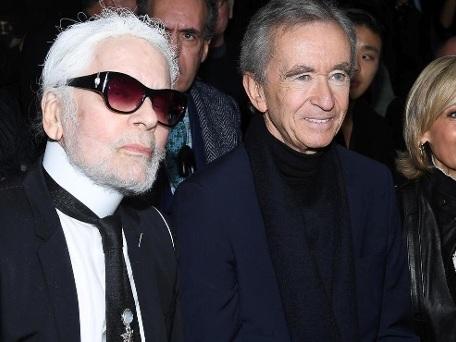 Modezar Karl Lagerfeld trägt jetzt einen Vollbart