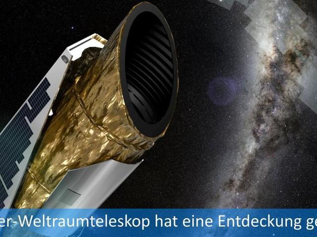 Nasa: Hat das Kepler-Weltraumteleskop Außerirdische entdeckt?