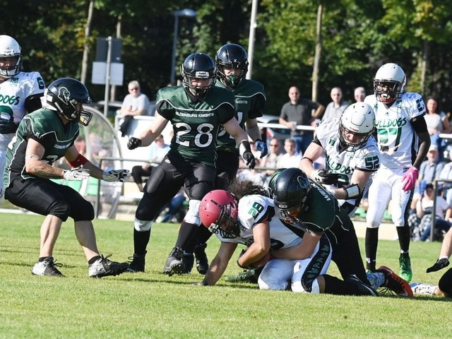 Football: Delmenhorst Bulldogs auf dem Weg zum Publikumsmagneten