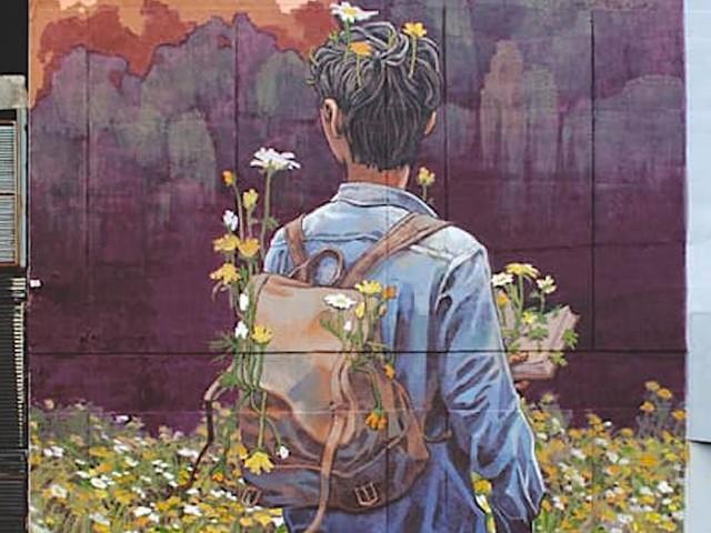 'Poem for Nobody' – Bezauberndes Mural von Street Artist Rustam QBic in Mexiko