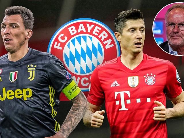 Pläne des FC Bayern: Rummenigge über Mandzukic und Lewandowski