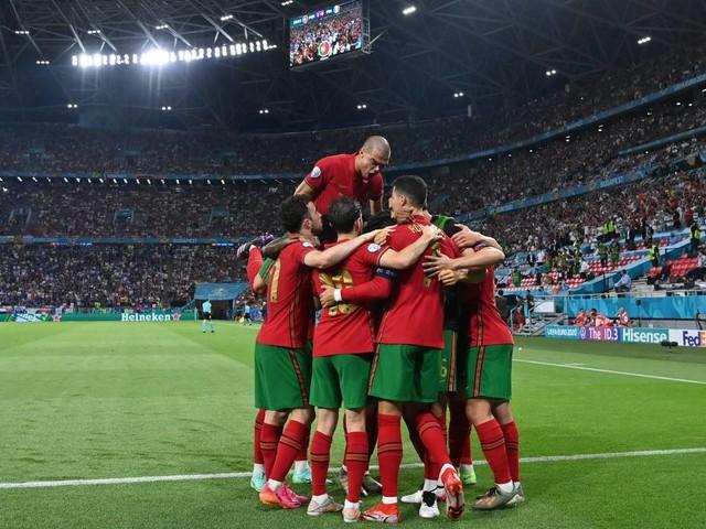 EM 2021: 2:2 gegen Frankreich: CR7 schießt Portugal mit Rekord ins Achtelfinale