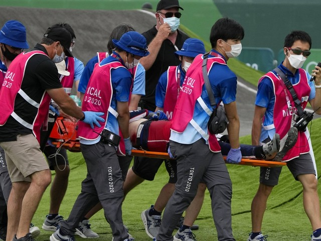 Olympische Spiele: Fields nach schwerem BMX-Unfall bei Bewusstsein