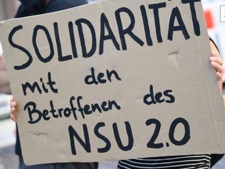 """Anklage wegen """"NSU 2.0""""-Drohschreiben"""