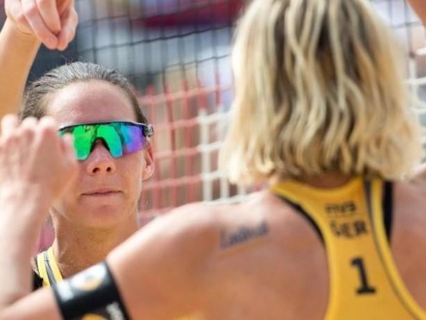Turnier in Lettland: Weltmeisterinnen Ludwig/Walkenhorst siegen zum EM-Auftakt