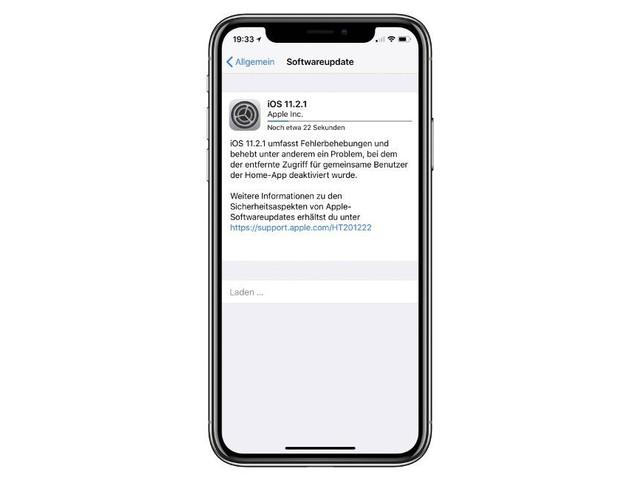 iOS 11.2.1 ist da