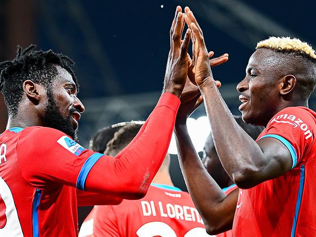 Serie A: Dank Osimhen! Napoli behält weiße Weste