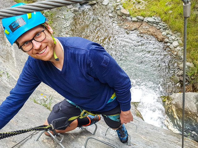 "Kommentar zu Wildwire Wanaka – Via Ferrata Neuseeland von ""A highlight of our NZ Trip"" World Travlr - Wildwire Wanaka"