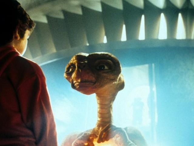 """""""E.T."""" der Außerirdische kommt zurück auf die Erde"""