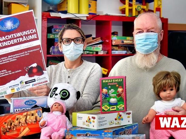 Ruhrtalengel: Ruhrtalengel in Witten erfüllen wieder Weihnachtswünsche