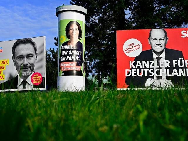 SPD stärkste Kraft: Es ampelt in Berlin