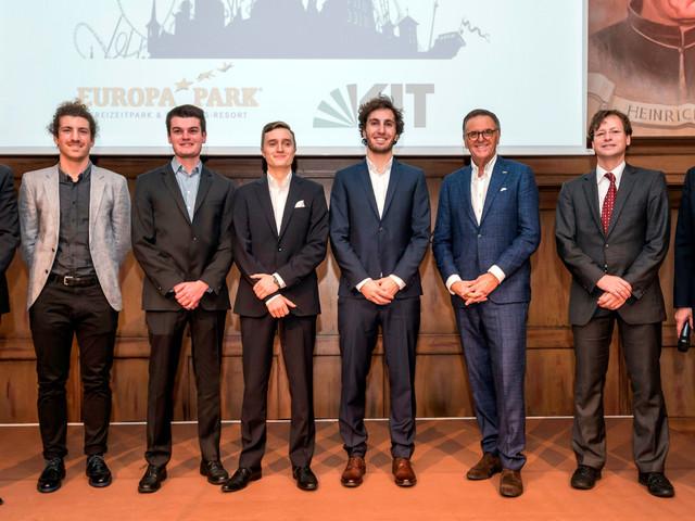 Roland-Mack-Maschinenbau-Stipendium geht 2017 an fünf Studierende des Karlsruher Instituts für Technologie