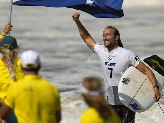 Olympia News: Nach Hirnverletzung 2015 – Surfer Wright schreibt Olympia-Märchen