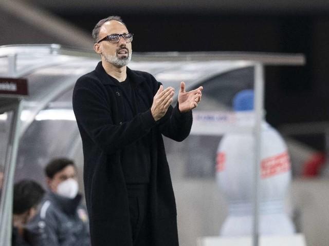 VfB Stuttgart bei RB Leipzig: Wie Trainer Pellegrino Matarazzo seine Profis anspornt